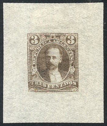 Lot 90 - Argentina general issues -  Guillermo Jalil - Philatino  Auction #1829 ARGENTINA: small but very attractive auction