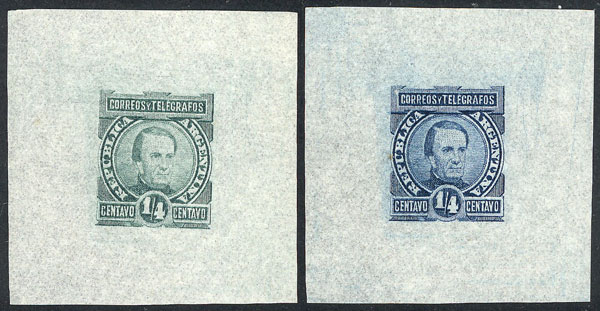 Lot 78 - Argentina general issues -  Guillermo Jalil - Philatino  Auction #1829 ARGENTINA: small but very attractive auction