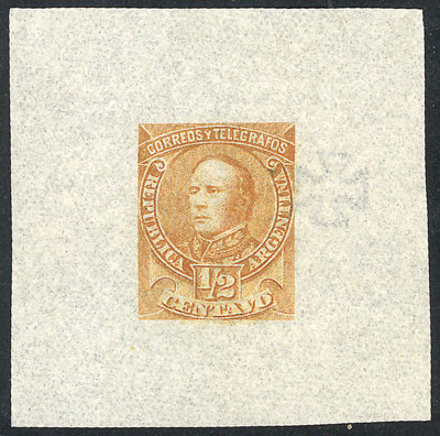 Lot 80 - Argentina general issues -  Guillermo Jalil - Philatino  Auction #1829 ARGENTINA: small but very attractive auction