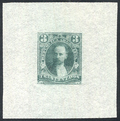 Lot 91 - Argentina general issues -  Guillermo Jalil - Philatino  Auction #1829 ARGENTINA: small but very attractive auction
