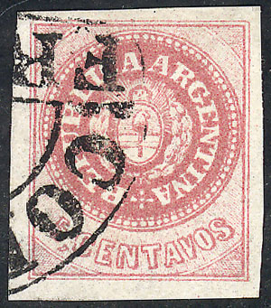 Lot 19 - Argentina escuditos -  Guillermo Jalil - Philatino  Auction #1829 ARGENTINA: small but very attractive auction