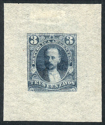 Lot 92 - Argentina general issues -  Guillermo Jalil - Philatino  Auction #1829 ARGENTINA: small but very attractive auction