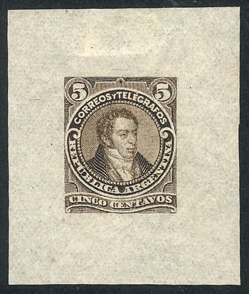 Lot 94 - Argentina general issues -  Guillermo Jalil - Philatino  Auction #1829 ARGENTINA: small but very attractive auction