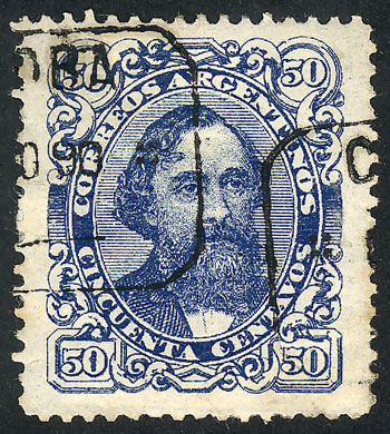 Lot 76 - Argentina general issues -  Guillermo Jalil - Philatino  Auction #1829 ARGENTINA: small but very attractive auction