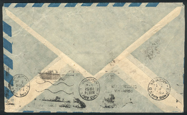 Lot 1 - argentine antarctica postal history -  Guillermo Jalil - Philatino  Auction #1830 ARGENTINA: