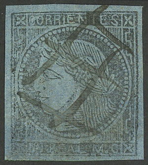 Lot 13 - Argentina corrientes -  Guillermo Jalil - Philatino  Auction #1903 ARGENTINA: 'Budget' auction with lots of interesting items at very low starts!