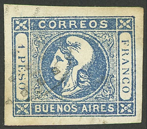 Lot 6 - Argentina buenos aires -  Guillermo Jalil - Philatino  Auction #1903 ARGENTINA: 'Budget' auction with lots of interesting items at very low starts!