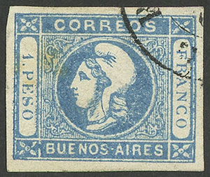 Lot 7 - Argentina buenos aires -  Guillermo Jalil - Philatino  Auction #1903 ARGENTINA: 'Budget' auction with lots of interesting items at very low starts!