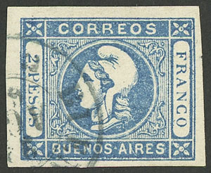 Lot 10 - Argentina buenos aires -  Guillermo Jalil - Philatino  Auction #1903 ARGENTINA: 'Budget' auction with lots of interesting items at very low starts!