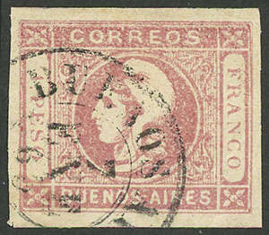 Lot 11 - Argentina buenos aires -  Guillermo Jalil - Philatino  Auction #1903 ARGENTINA: 'Budget' auction with lots of interesting items at very low starts!