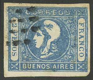 Lot 12 - Argentina buenos aires -  Guillermo Jalil - Philatino  Auction #1903 ARGENTINA: 'Budget' auction with lots of interesting items at very low starts!
