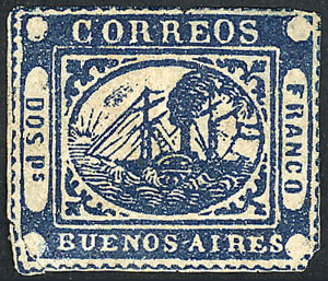 Lot 2 - Argentina buenos aires -  Guillermo Jalil - Philatino  Auction #1903 ARGENTINA: 'Budget' auction with lots of interesting items at very low starts!