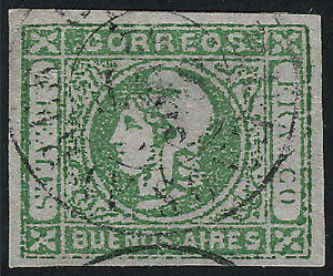 Lot 5 - Argentina buenos aires -  Guillermo Jalil - Philatino  Auction #1903 ARGENTINA: 'Budget' auction with lots of interesting items at very low starts!