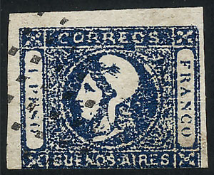 Lot 8 - Argentina buenos aires -  Guillermo Jalil - Philatino  Auction #1903 ARGENTINA: 'Budget' auction with lots of interesting items at very low starts!