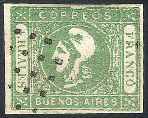 Lot 3 - Argentina cabecitas -  Guillermo Jalil - Philatino
