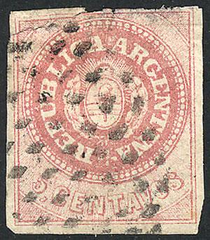 Lot 16 - Argentina escuditos -  Guillermo Jalil - Philatino Auction # 1905  ARGENTINA: