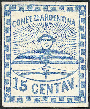Lot 13 - Argentina confederation -  Guillermo Jalil - Philatino