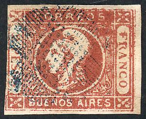 Lot 8 - Argentina cabecitas -  Guillermo Jalil - Philatino