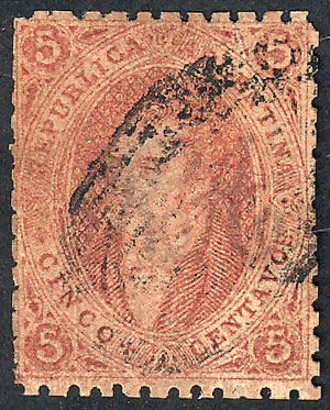 Lot 19 - Argentina rivadavias -  Guillermo Jalil - Philatino Auction # 1905  ARGENTINA: