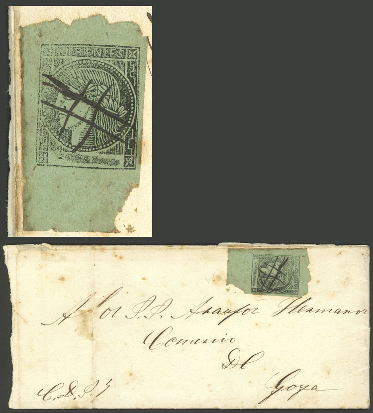 Lot 15 - Argentina corrientes -  Guillermo Jalil - Philatino Auction # 1906 ARGENTINA: small February auction with very interesting lots!