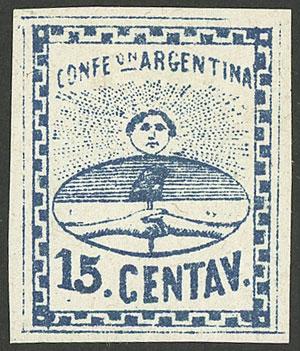 Lot 21 - Argentina confederation -  Guillermo Jalil - Philatino