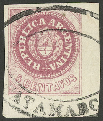 Lot 23 - Argentina escuditos -  Guillermo Jalil - Philatino