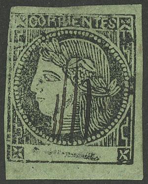 Lot 56 - Argentina corrientes -  Guillermo Jalil - Philatino Auction # 1908 ARGENTINA: