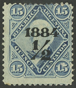 Lot 64 - Argentina general issues -  Guillermo Jalil - Philatino Auction # 1909 ARGENTINA: small sale with very interesting lots!
