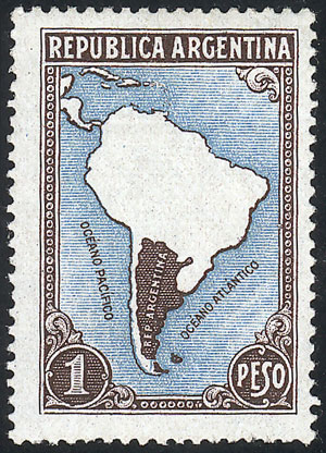 Lot 131 - Argentina general issues -  Guillermo Jalil - Philatino