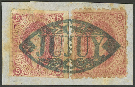 Lot 20 - Argentina rivadavias -  Guillermo Jalil - Philatino Auction # 1909 ARGENTINA: small sale with very interesting lots!