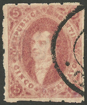 Lot 26 - Argentina rivadavias -  Guillermo Jalil - Philatino Auction # 1909 ARGENTINA: small sale with very interesting lots!