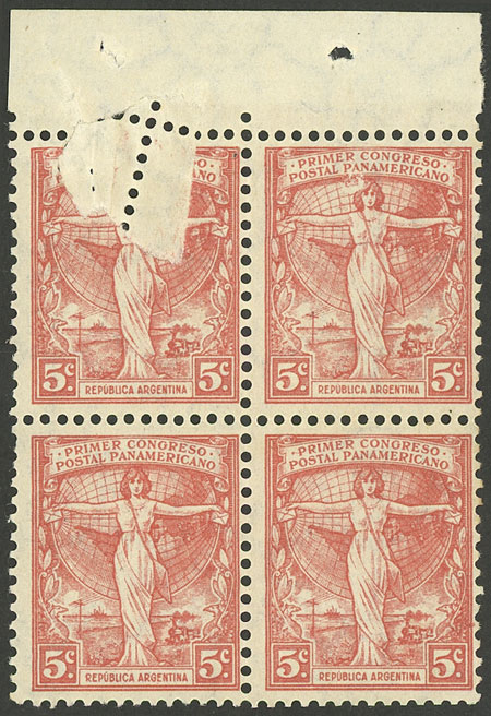 Lot 114 - Argentina general issues -  Guillermo Jalil - Philatino Auction # 1909 ARGENTINA: small sale with very interesting lots!
