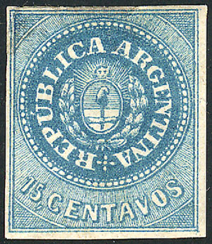 Lot 12 - Argentina escuditos -  Guillermo Jalil - Philatino