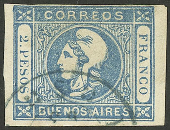 Lot 24 - Argentina buenos aires -  Guillermo Jalil - Philatino Auction # 1910 ARGENTINA: