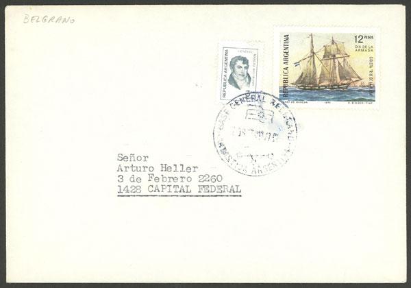 Lot 8 - argentine antarctica postal history -  Guillermo Jalil - Philatino Auction # 1910 ARGENTINA: