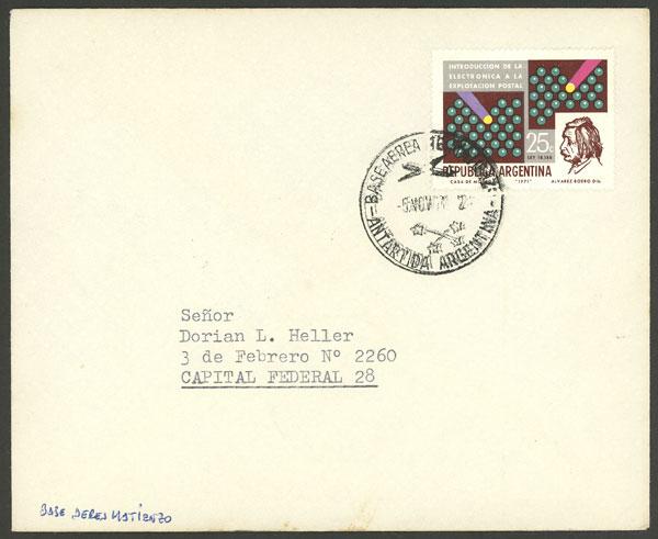 Lot 3 - argentine antarctica postal history -  Guillermo Jalil - Philatino Auction # 1910 ARGENTINA: