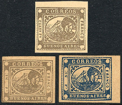 Lot 18 - Argentina buenos aires -  Guillermo Jalil - Philatino Auction # 1910 ARGENTINA: