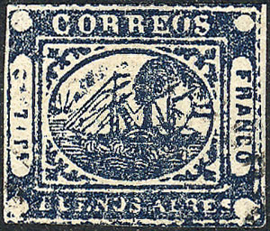 Lot 21 - Argentina buenos aires -  Guillermo Jalil - Philatino Auction # 1910 ARGENTINA: