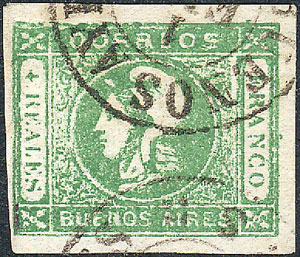 Lot 22 - Argentina buenos aires -  Guillermo Jalil - Philatino Auction # 1910 ARGENTINA:
