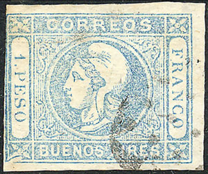 Lot 23 - Argentina buenos aires -  Guillermo Jalil - Philatino Auction # 1910 ARGENTINA: