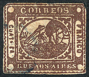 Lot 19 - Argentina buenos aires -  Guillermo Jalil - Philatino Auction # 1910 ARGENTINA: