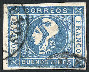 Lot 25 - Argentina buenos aires -  Guillermo Jalil - Philatino Auction # 1910 ARGENTINA: