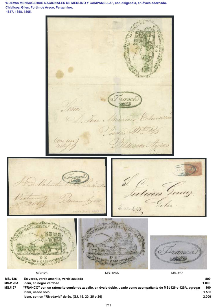 Lot 1 - Argentina books -  Guillermo Jalil - Philatino Auction # 1910 ARGENTINA:
