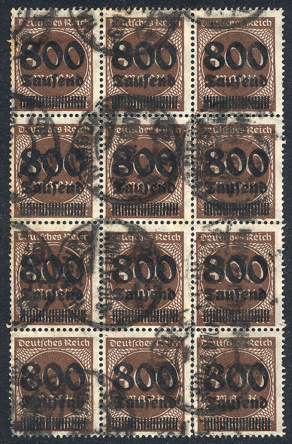 Lot 19 - germany general issues -  Guillermo Jalil - Philatino Auction # 1911 WORLDWIDE + ARGENTINA: General March auction!