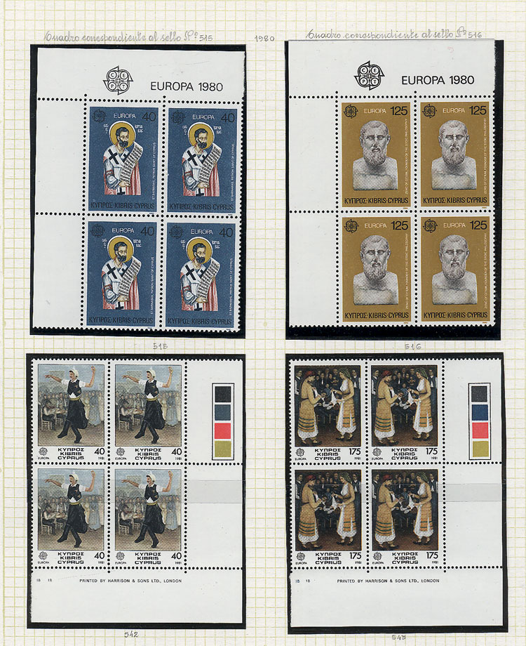 Lot 3 - topic europa Lots and Collections -  Guillermo Jalil - Philatino Auction # 1911 WORLDWIDE + ARGENTINA: General March auction!