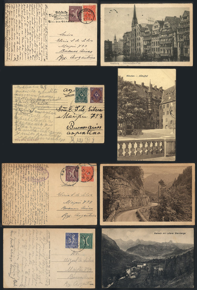 Lot 25 - germany postal history -  Guillermo Jalil - Philatino Auction # 1911 WORLDWIDE + ARGENTINA: General March auction!