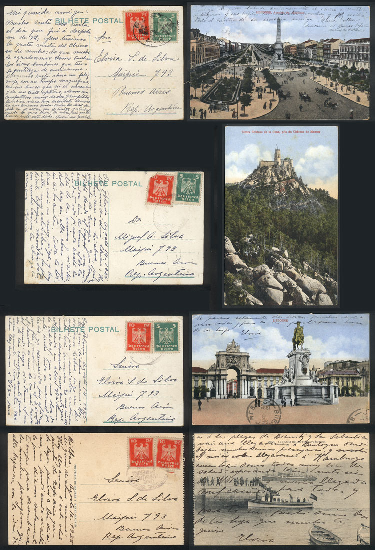 Lot 24 - germany postal history -  Guillermo Jalil - Philatino Auction # 1911 WORLDWIDE + ARGENTINA: General March auction!