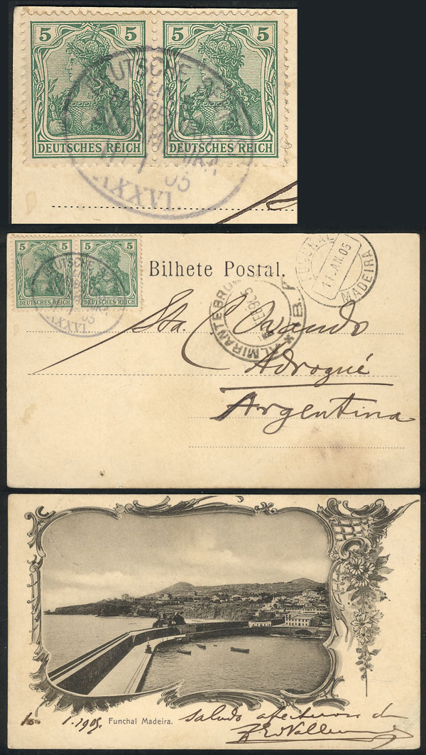 Lot 23 - germany postal history -  Guillermo Jalil - Philatino Auction # 1911 WORLDWIDE + ARGENTINA: General March auction!