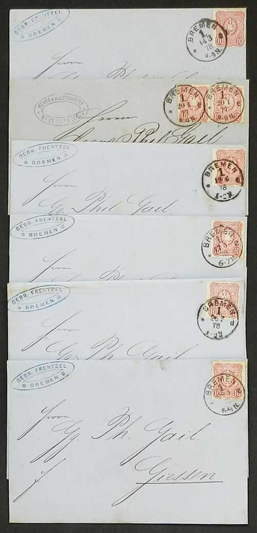 Lot 22 - germany postal history -  Guillermo Jalil - Philatino Auction # 1911 WORLDWIDE + ARGENTINA: General March auction!