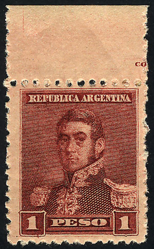 Lot 223 - Argentina general issues -  Guillermo Jalil - Philatino Auction # 1913 ARGENTINA: